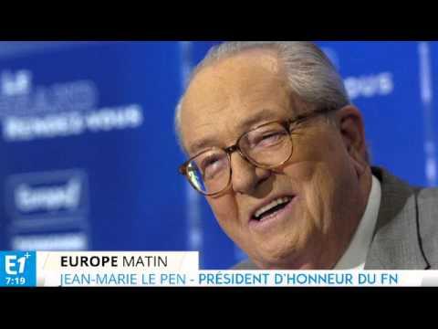 """Jean-Marie Le Pen : """"C'est une félonie"""" - Europe 1"""