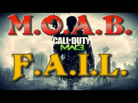 MW3 funny M.O.A.B. fail on Infected