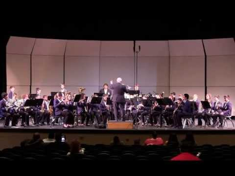 04-08-13 Hornedo Middle School Symphonic Band 3-District Concert & Sight Reading