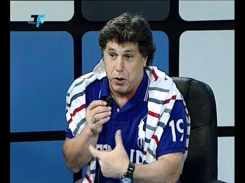 Carrasco irrumpió en VTV para felicitar a Diego Aguirre