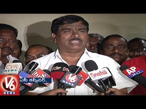 TSRTC Workers Unions Issues Strike Notice To Management | Hyderabad | V6 News