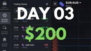 DAY03 - เปิดตลาดแถมมากับดวงจาก $72 to $200 (32kUSD)