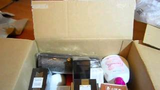 Unboxing Oriflame C17 / 2013