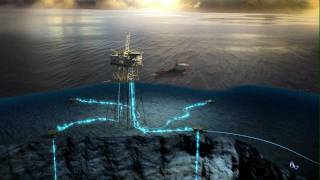 Oil and Gas - 3D Animation - Network Communication