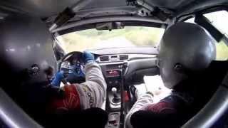 Rally Benahavis 2014 // On Board David Quijada - Dani Canelo //
