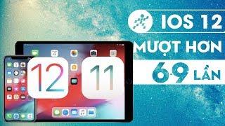 Speedtest iOS 12 (chính thức) vs iOS 11 trên iPhone 6s Plus: Nhanh hơn 6-9 lần?