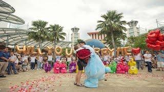 Download Lagu THE CAREBEAR PROPOSAL - Public Flash Mob Proposal Singapore - Andrew & Anna (Link in description) Gratis STAFABAND