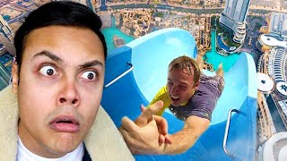REACTING TO WATER SLIDES THAT ARE NOW BANNED