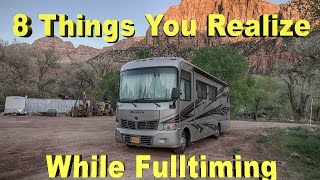 8 Things You Realize While Full Time Living In A RV
