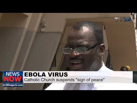 Why Catholic Church suspended shaking of hands over Ebola virus