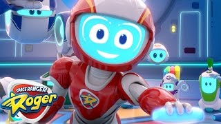 Space Ranger Roger  Episode 5 - 8 Compilation  Cartoons For Kids  Funny Cartoons For Children