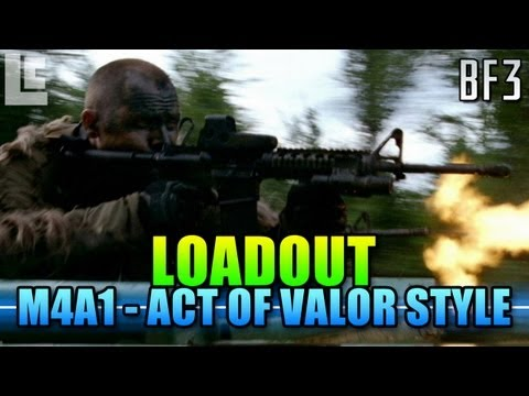 Loadout - M4A1 Act Of Valor Style! (Battlefield 3 Gameplay/Commentary/Review)