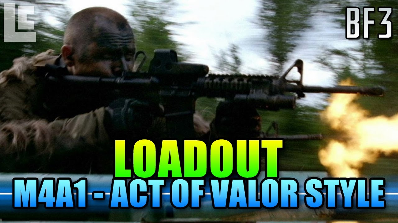 Act Of Valor Loadout