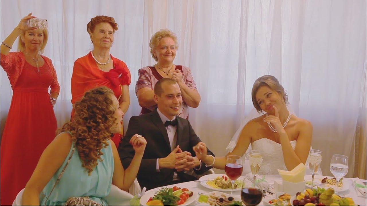 Поздравление на свадьбу от родителей-видео