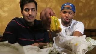 تحدي اكل ١٢ حبة تاكو مع عبدإالاله