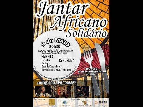Jantar Solidario  AHEAD  Moçambique  Maio 2014