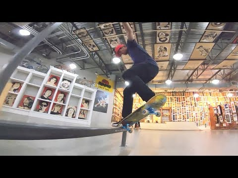 Beautiful Indoor Skatepark!
