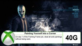 "Payday 2 - ""Painting Yourself Into a Corner"" (Achievement/Trophy) - Full Guide (Solo)(Detailed)"