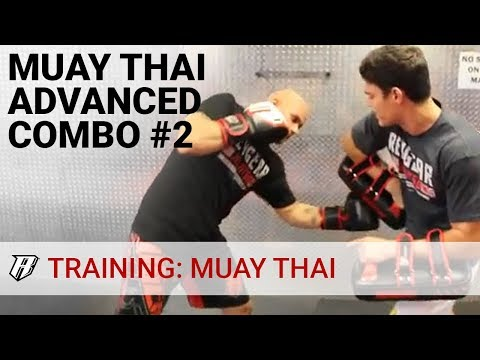 Muay Thai Training Technique of the Week - Muay Thai Advanced Combo #2 Image 1