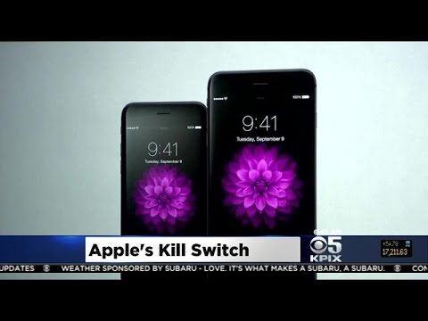 Apple's Kill Switch Now Featured In iOS 8