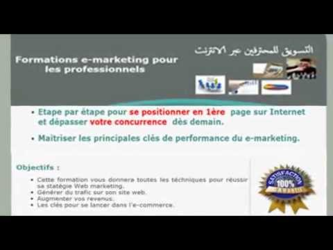 Formations e-marketing pour les professionnels