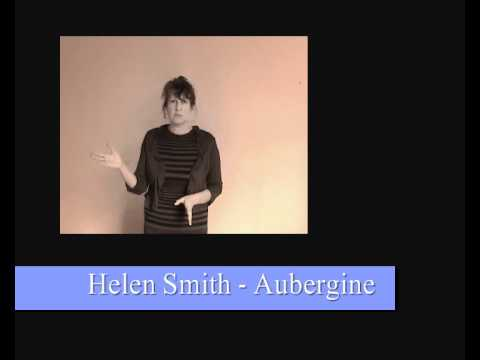 Aubergine by Helen Smith