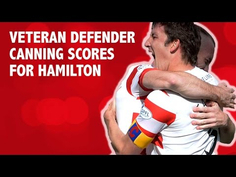 Veteran defender Canning scores for Hamilton