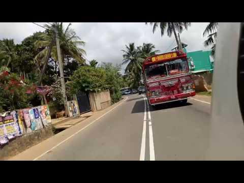 Dhanuddhari bus ampara/mathara race. thumbnail