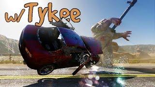 Gas Guzzlers (Zombie DLC) - Les Knackis en Folie - w/ Tykee - Gameplay PC