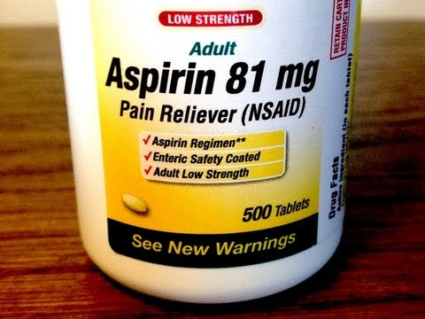 Aspirin Medical Minute with Dr. Richard Honaker