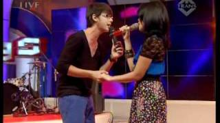 Ussy Feat Andhika Ku Pilih Hatimu Performed Di Derings 18 04 Courtesy Transtv