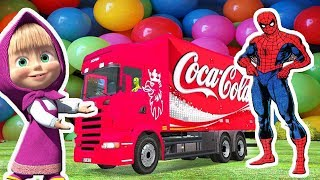 LEARN COLORS with TRUCK- | Color Conundrum | Cartoons For Children