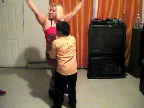 Dominican Republic Mom Dancing With Her Son In Newark, New Jersey video