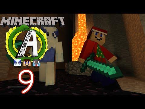 Diamond Mining! Minecraft: World of Althea (Hardcore Survival Episode 9) W/ Jpw03 and Jakalodean