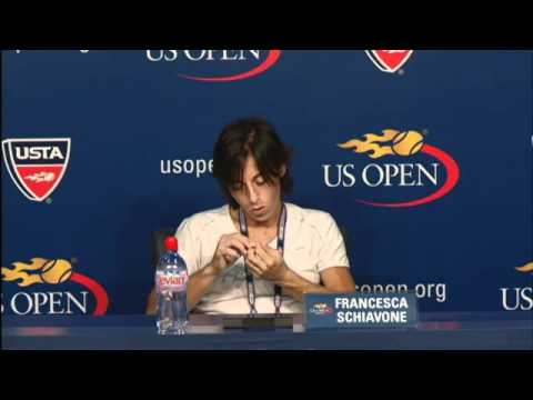 2010 US Open Press Conferences: Francesca Schiavone (Third Round)