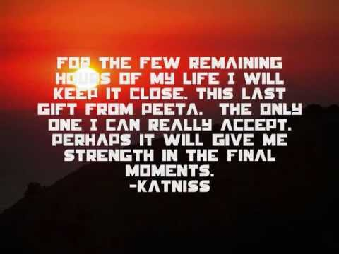 catching fire peeta and katniss quotes youtube