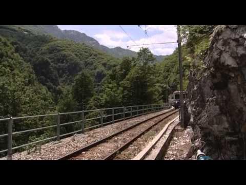 Железные дороги мира. Италия. Домодосора