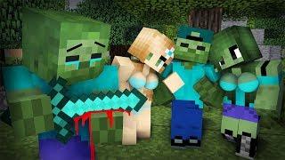 Zombie Sad Life Episode 2- Minecraft Animation