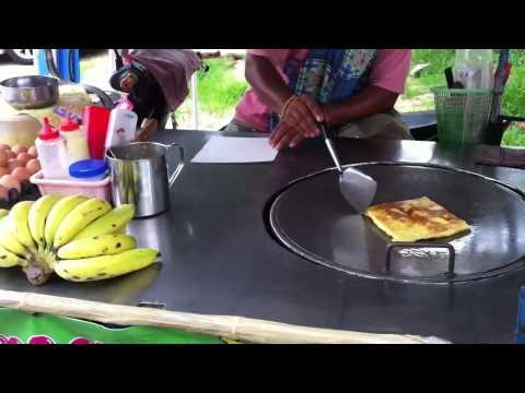 Уличная еда  в Паттая, Тайланд