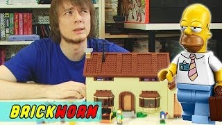LEGO The Simpsons House. Обзор набора - Brickworm