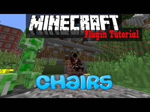 Chairs (Minecraft Plugin Tutorial) Enables Chair-sitting!