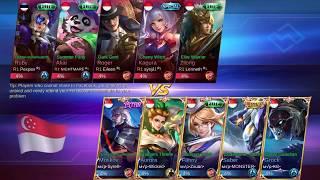 WOW! SQUAD Fanny Zxuan KALAH - MVP VS R1 SQUAD (WAR CLAN)