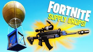 LEGENDARY SUPPLY DROPs and CRAZY Duo GAMEPLAY! -  Fortnite Battle Royale Gameplay