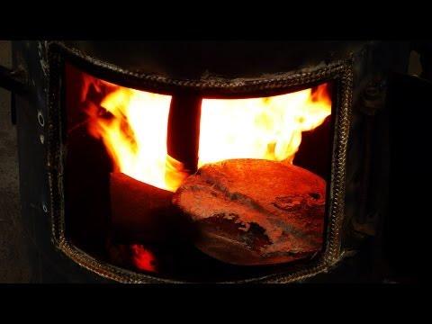 White HOT - Diy - Waste Oil Stove Heater