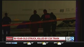 Authorities: 18-year-old hit, killed by CSX train in Ionia County