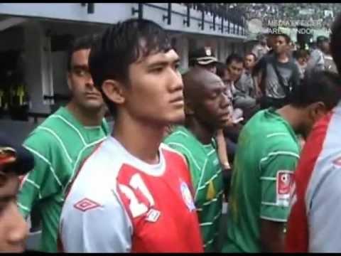 AREMA IPL bertandang melawan Prsebaya