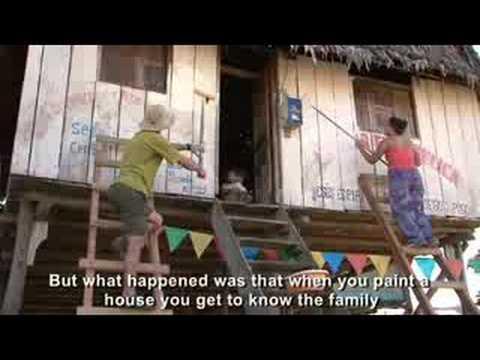 Art, a Bridge to Health in Belen, Iquitos, Peru
