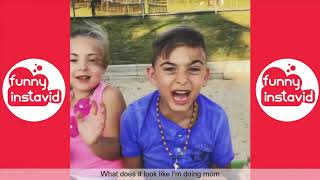 TRY NOT TO LAUGH WHILE WATCHING FUNNY KIDS VIDEOS COMPILATION