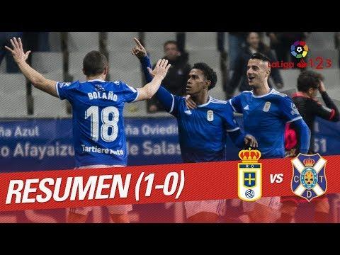 Resumen de Real Oviedo vs CD Tenerife (1-0)