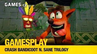 GamesPlay - Crash Bandicoot N. Sane Trilogy